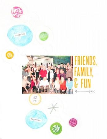 Inspiration du Jour - Friends, Family and Fun by ShayneBundy