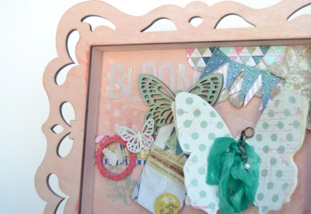Show & Tell - Heidi Swapp Frame at Frenchie Wraps
