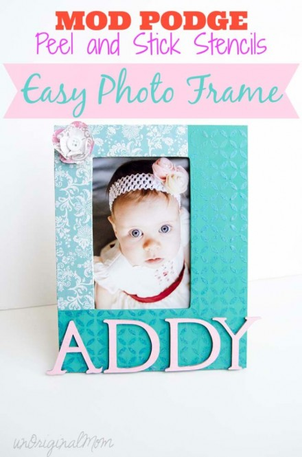 Tutorial - Decorate a Photo Frame