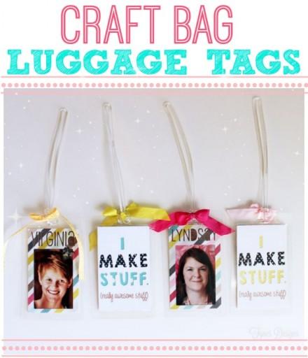 Tutorial - craft-bag-luggage-tags Fynes Designs
