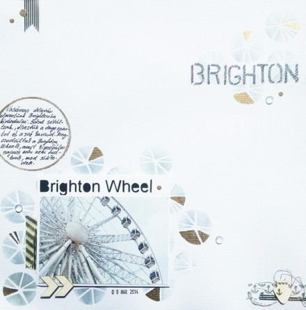 Inspiration du Jour - Brighton Wheel by Timea Brio