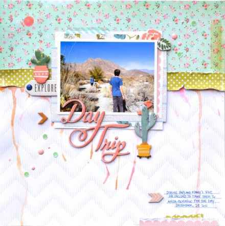 Inspiration du Jour - Day Trip by Scrap Maman