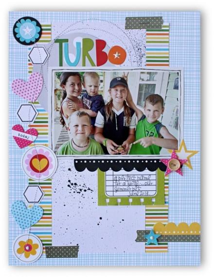 Inspiration du Jour - Turbo by kellyrholbrook