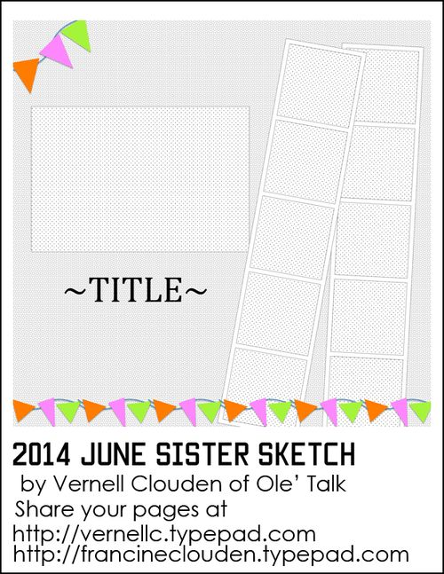 Craft Gossip Summer of Sketches 16 - Aug 25th