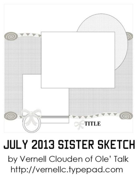 Craft Gossip Summer of Sketches 7 - Aug 4th
