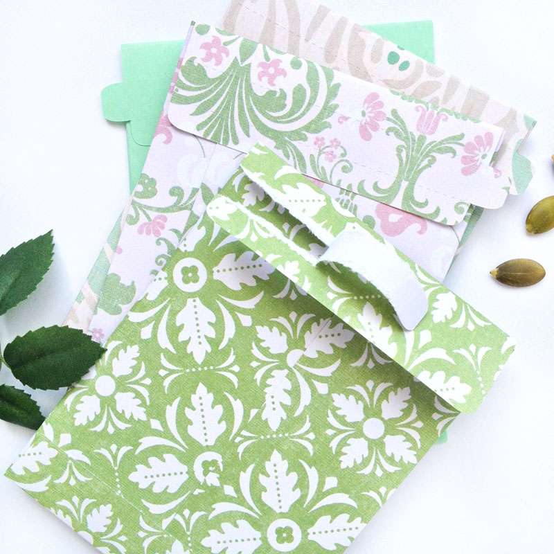 Freebie and Tutorial - MaritzaLisa Tear Away Seed Envelopes