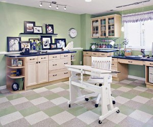 Ultimate Scrapbooking Room at BHG
