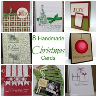 8 Handmade Christmas Cards