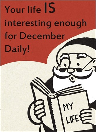 daily digi podcast - my life isn't interesting enough for december daily