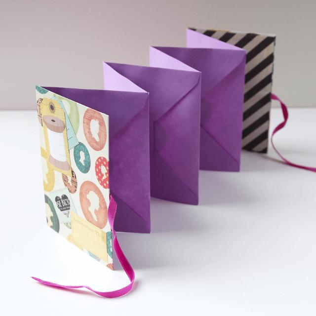 Tutorial | Folding Envelope Mini Album