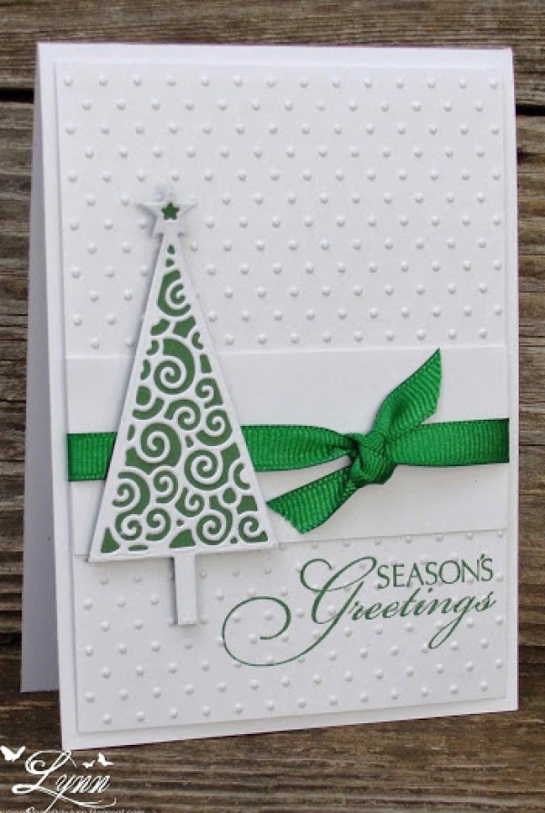 8 handmade christmas cards scrap booking for Homemade christmas card ideas