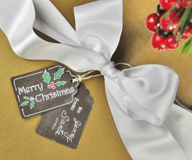 Chalk Gift Tags by 365 Designs