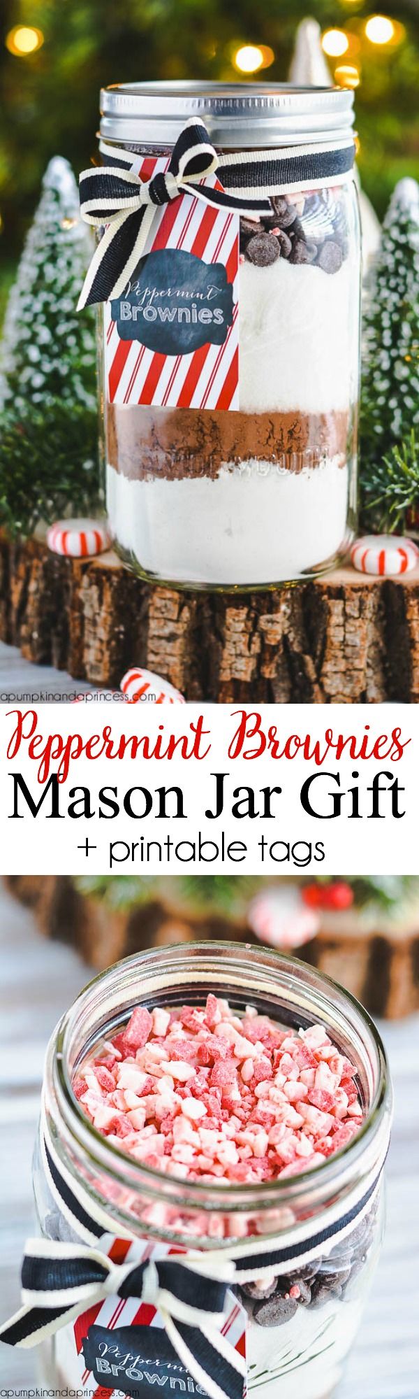 Peppermint-Brownie-Mix-Mason-Jar-Gift