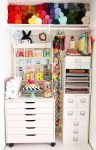 12 Ideas to Organize Your Scrap Room This Weekend