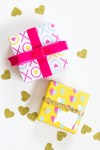Freebie |  Printable Valentine's Day Gift Wrap
