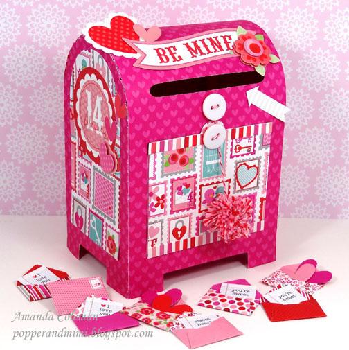 Schön Post Office Valentine Mailbox Doodlebug Amanda Coleman