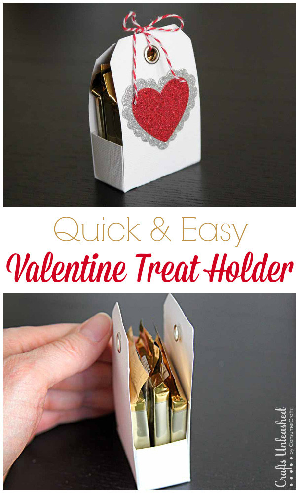 Tutorial Treat Holder For Valentines Day Scrap Booking