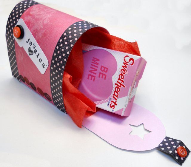 Printable Valentine's Day Mailbox from Misc.Makers