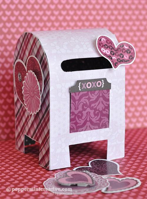 10 Mailbox Ideas For Valentine S Day Scrap Booking