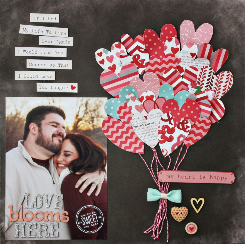 love blooms here by Holly Humbert