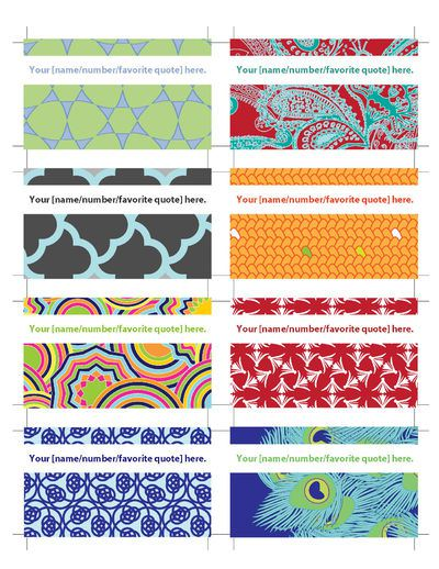 printable calling cards from The Cottage Industrialist