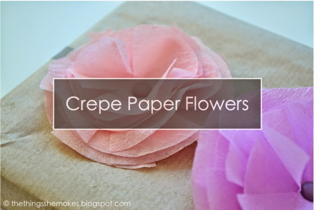 Tutorial how to make crepe paper flowers scrap booking heres a beautiful way to adorn a mothers day gift card or scrapbook page crepe paper flowers these delicate looking beauties are pretty simple to whip mightylinksfo