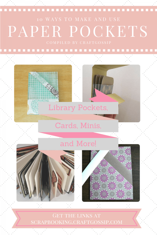 10 Ways To Make And Use Paper Pockets Templates Tutorials