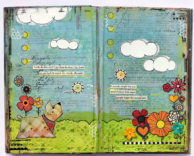 Book of Quotes inside page by Kathie Link
