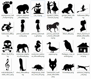 Over 600 free silhoutte SVG Cut files