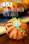 451 FREE Halloween Printables