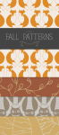 Free Printable Fall Patterns for Scrapbooking