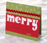 20 Handmade Christmas Cards Using Scrapbooking Supplies