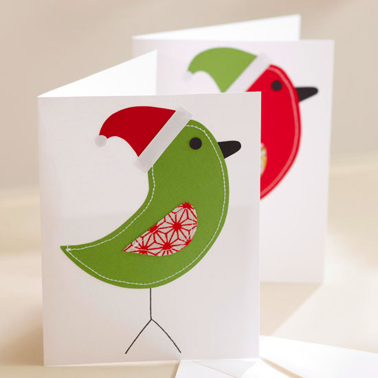 send a personal and creative seasonal greeting with these simple christmas cards theyre easy enough to make in bulk or pretty enough to design for just a - Handmade Christmas Card Ideas