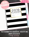 12 Printable Planners for 2016