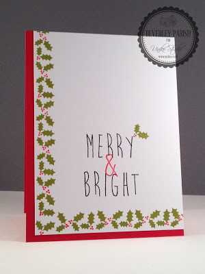 5 Ideas for Easy DIY Christmas Cards - Stamped Merry & Bright