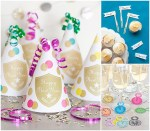 New Year's Party Favors + FREE Printables