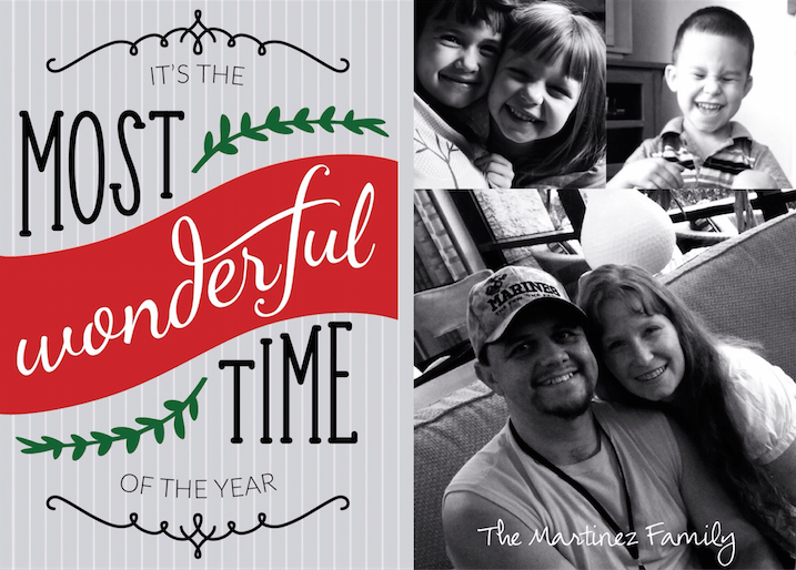 Make Christmas Cards With The Project Life App Scrap Booking