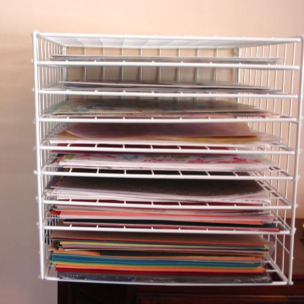 Diy 1212 Scrapbook Paper Storage Scrap Booking