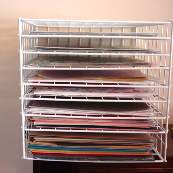 ... DIY 12×12 Scrapbook Paper Storage