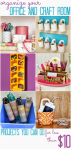Office and Craft Space Organization under $10