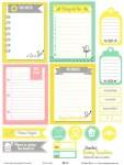 Free Spring Sunshine Journaling Cards