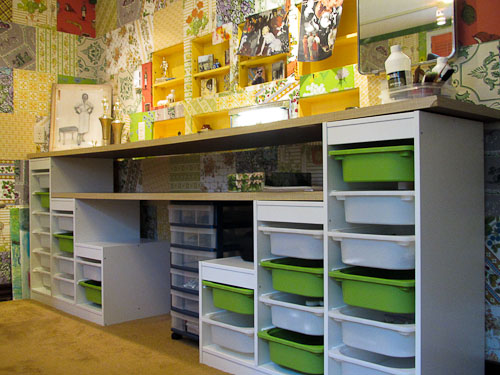 Craft Room Idea Ikea Kids Storage With Counter Tops