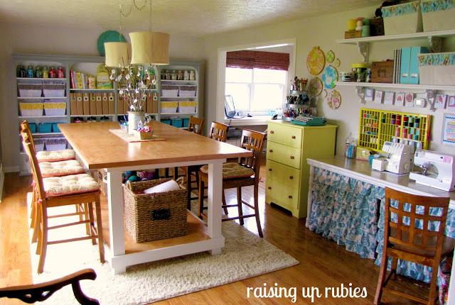 Cute Room Crafts: Super Cute Craft Room Tour