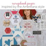 Ideas for Scrapbook Pages with an Americana Style