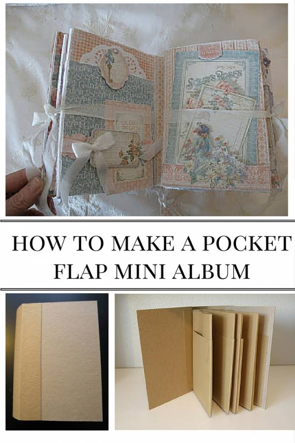How to make a pocket flap mini album