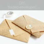 DIY: Folded Envelopes from any Paper