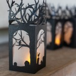 DIY Paper Lanterns for Halloween