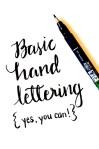 Learn Basic Hand Lettering