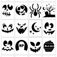20 Free, Printable, Downloadable Pumpkin Templates