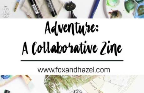 Free Printable Art Journal Zine